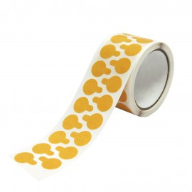 Double Sided Tape Disks - Perm Peel